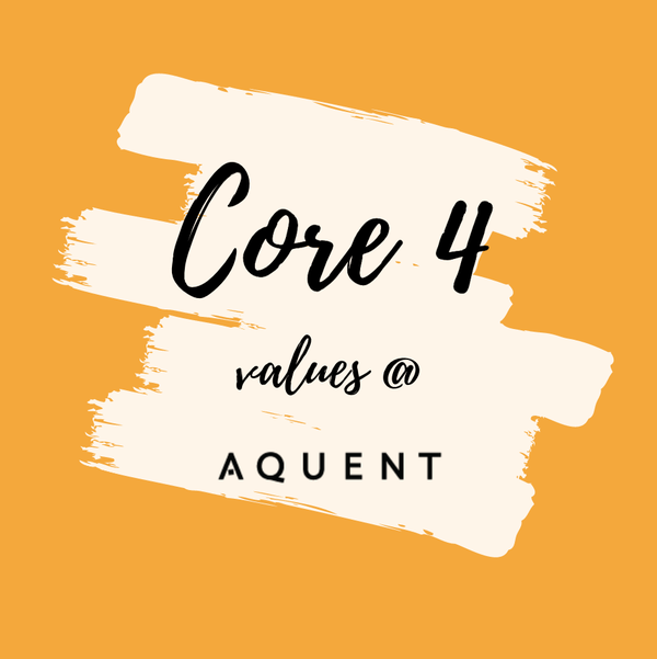 Image for Aquent Core 4 Values